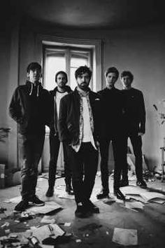 So, to begin with, we start with very important thing. Foals are a music rock band from England, Oxford and they are not related to foals like...