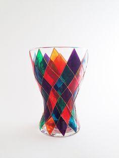 Harlequin vase £35.00