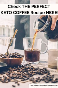 Do you like coffee? Me too! And what about Keto Coffee? Get my free keto recipe for coffee here! I bet you can taste that delicious Keto coffee now! See the recipe here! #Keto #KetoRecipe #Coffee #KetoCoffee #HealthyCoffee #HealthyEating #Health #KetoTrend #KetoDiet #WeightLoss #HealthyLiving