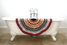 Rocket and Bear: Rocket and Bear Bath Crochet Bath Mat...