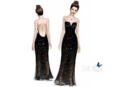 Galla Event Gown by Ms Blue - Sims 3 Downloads CC Caboodle