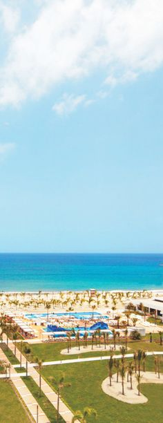 Perfect sea view from the Riu Playa Blanca in Panama - all inclusive resort on the beach in Panama