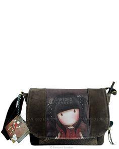 Shoulder Bag, Ruby - Santoro's Gorjuss