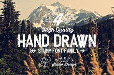 Stump Font Family by Rachid Aitouaissi. Get it...