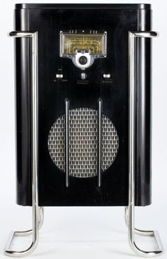 Poste de Radio de Sol - RCA 6K10 - John Vassos - 1936