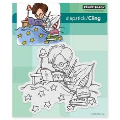 Use the A Wizard Cling Mounted Rubber Stamp by Penny Black to make fun cards and tags. The stamp is on a 5 Mo Manning, Harry Potter Wizard, Puff Paint, Penny Black Stamps, Stationery Craft, Simon Says Stamp, Cool Cards, Cute Drawings, Scrapbook Paper