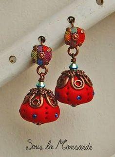 I like fabrics jewelry and red...