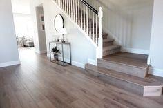 Provenza Vinyl Flooring Review - Cutesy Crafts Beautiful Flooring, Flooring Inspiration, Lvp Flooring, Beach House Flooring, House, Stair Landing, Vinyl Flooring, Flooring Options, House Flooring