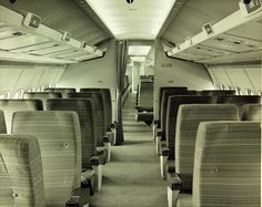 Convair , 880 | Flickr - Photo Sharing!  Convair 880M First Class, very likely Cathay Pacific, at the factory.