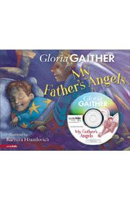 "My Father's Angels by Gloria Gaither  Price: $14.99; Ages: 3-6. A child looks up to heaven and says of angels, ""They're all above me."" Children are drawn to the idea of guardians watching over all they do, and this book has sweet and thoughtful illustrations of angels standing ready in various situations. The text is gentle and rhythmic and the book comes with a read-along CD narrated by Gloria Gaither, a well-known Christian singer and author."