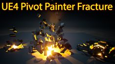 UE4 Pivot Painter Fracture | Files on Patreon Game Engine, Digital Media, Movie Posters, Game Motor, Film Poster, Popcorn Posters, Film Posters