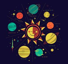 The Solar System Tee: Brent Couchman