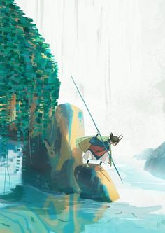 Foxfire: Fishing Fox by Carolyn Gan