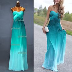 Elegant Sweetheart A-line Chiffon Vintage Handmade Floor-length Prom Dress, Homecoming dress from Your Closet