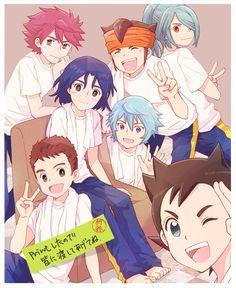Inazuma Eleven Strikers, Naruto Minato, Friend Anime, My Little Pony Pictures, Inazuma Eleven Go, Boy Art, Neko, Anime Manga, Character Art