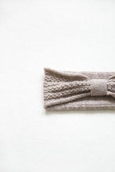 Maria | Headband - taupe by Studio Meez
