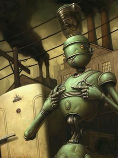 The Art of Brian Despain @ despainart.com~Steampunk Love •❀• by Airship Commander HG Havisham