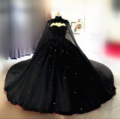 Black Wedding Gowns, Dream Wedding Dresses, Black Ball Gowns, Vintage Prom Dresses, Gown Wedding, Tulle Ball Gown, Ball Gown Dresses, Black Quinceanera Dresses, Quinceanera Ideas
