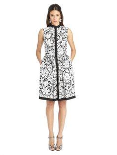 Sleeveless Cotton Poplin Dress