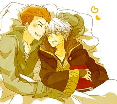 Gregor and Robin xD