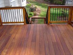 Sealing Or Oiling Ipe Decks Ipe Deck 3 Bays Herringbone