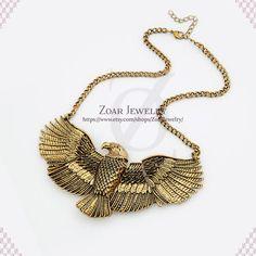 Eagle necklace Statement Fashion Party Necklace