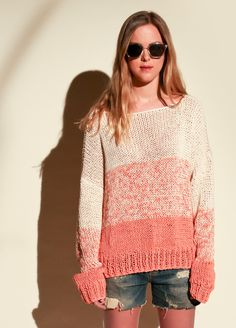 We Are Knitters Kit de tejer  -  Nivel Fácil Acadia Sweater