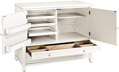 Martha Stewart Living Craft Space Storage Cabinet | Home Decorators | $419 | Black