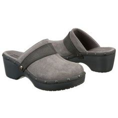 1cce5df91 Womens Crocs Cobbler Studded Clog Smoke Charcoal FamousFootwear.com   Crocsclogshoes