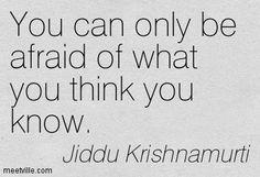 jiddu krishnamurti quotes - Google Search