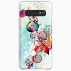 'Ornamental print' Case/Skin for Samsung Galaxy by knovadesign Semi Transparent, Phone Covers, My Arts, Samsung Galaxy, Ink, Ornaments, Art Prints, Printed, Awesome