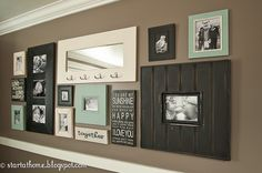 Start at Home: Make Your Own Family Photo Wall