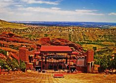 Red Rocks Ampitheater 8 x 10 Photography on by Attitudeheadbands
