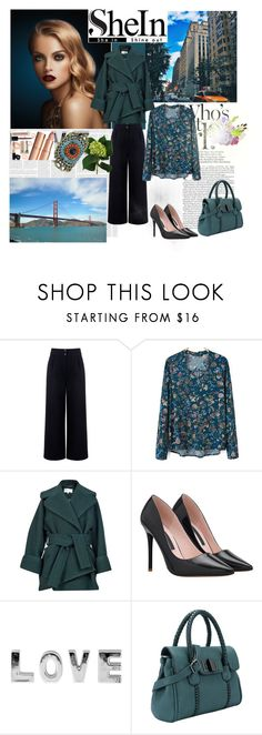 """""""SHEIN 8"""" by nedim-848 ❤ liked on Polyvore featuring moda, Être Cécile, Carven, women's clothing, women, female, woman, misses i juniors"""