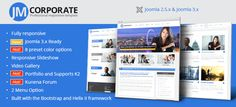 Corporate is a fully responsive joomla business template that allows any company or individual to create a stunning corporate website. http://cmsmart.net/joomla-templates/jm-corporate-responsive-joomla-template