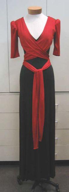 Evening Dress Scott Barrie (American) ca. 1972 silk