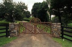'The Norton Gates' - A set of driveway gates built for a client in Salem, MA.