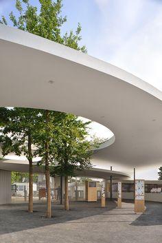 Zurich Zoo Foyer Renovación y Ampliación / L3P Architects