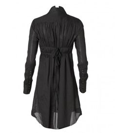 loving this black shirt dress --- so many things to do with this!