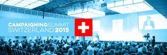 Die Revolution des Campaignings Der #Campaigning #Summit #Switzerland kündigt in diesem Jahr die #Revolution des #Campaignings an. Wir sind gespannt. Das #Programm klingt vielversprechend: Fünf internationale #Speaker werden ihr Wissen und ihre #Erfahrung aus verschiedenen Bereichen und #Branchen mit dem interdisziplinären #Publikum teil...
