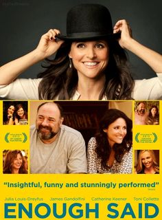 Julia Louis Dreyfus / Enough Said - cool posters by Steve Bates - famous #celebrities #movies and singers