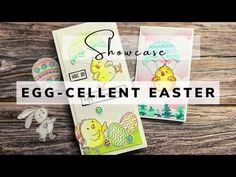 Showcase by Tonic Studios - Egg-Cellent Easter - YouTube Eggs, Easter, Cards, Studios, Youtube, Easter Activities, Egg, Maps, Playing Cards
