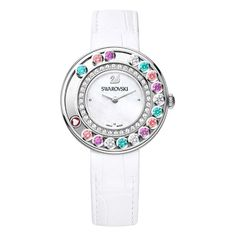 Swarovski Женские Часы New Lovely Crystals Multi-Colored 5183955 - Make Up Forever Swarovski Swan, Swarovski Jewelry, Swarovski Crystals, Daniel Wellington, Swarovski Watches, Swan Logo, Fashion Jewelry, Women Jewelry, Michael Kors