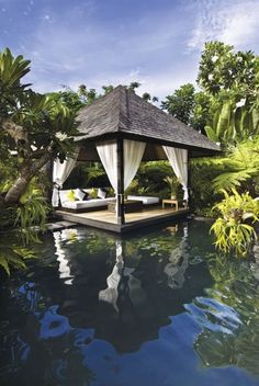 Gazebo  by the Pool.