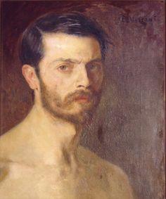 Eliseu VISCONTI. Self-portrait [oil on canvas], circa 1900.