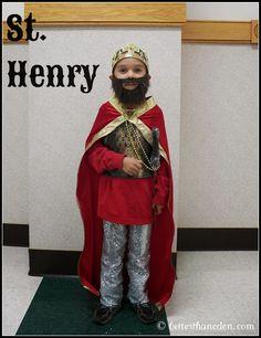 St. Henry costume All Saints Day  About the saint: http://saints.sqpn.com/saint-henry-ii/