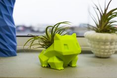 3D printed Bulbasaur