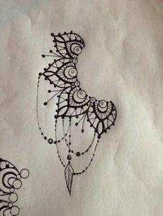 Tatouage Mandala dessin #beautytatoos