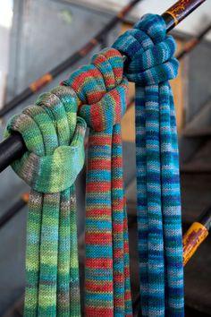 Lana Grossa SCHAL Cool Wool Big - FILATI Teens No. 7 - Modell 10a   FILATI.cc WebShop
