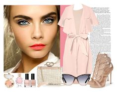 """Blushing Neutral"" by mellr on Polyvore"